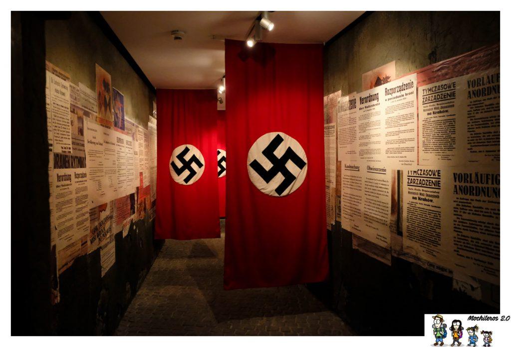 bandera nazi fabrica schindler
