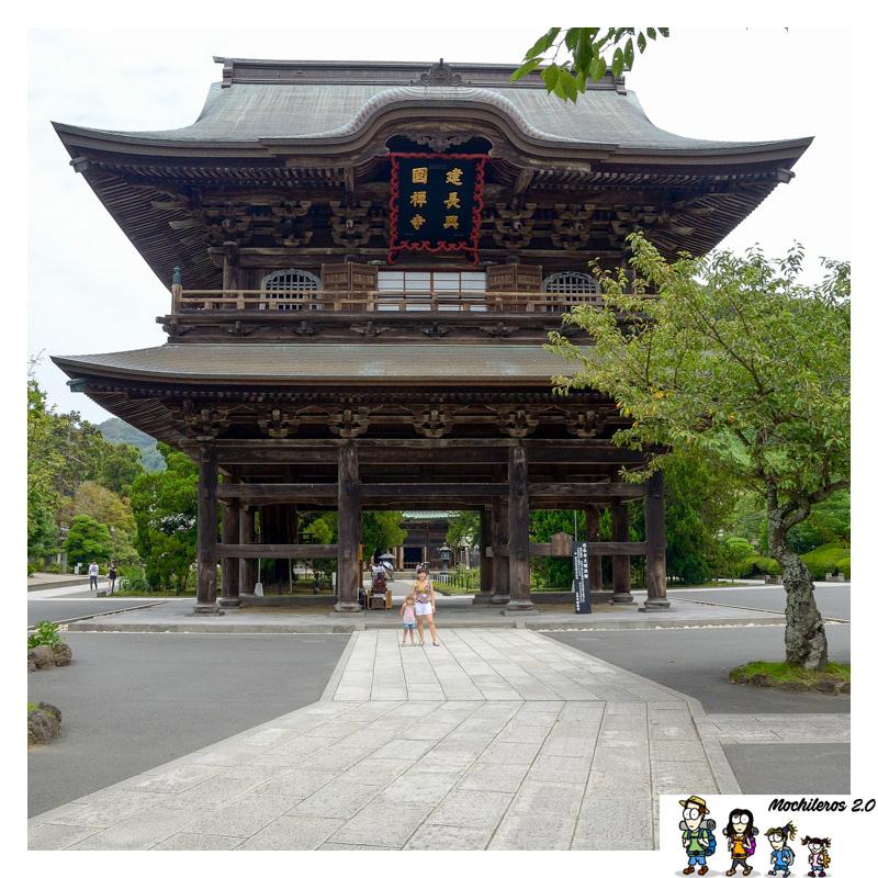 kamakura kenchoji puerta