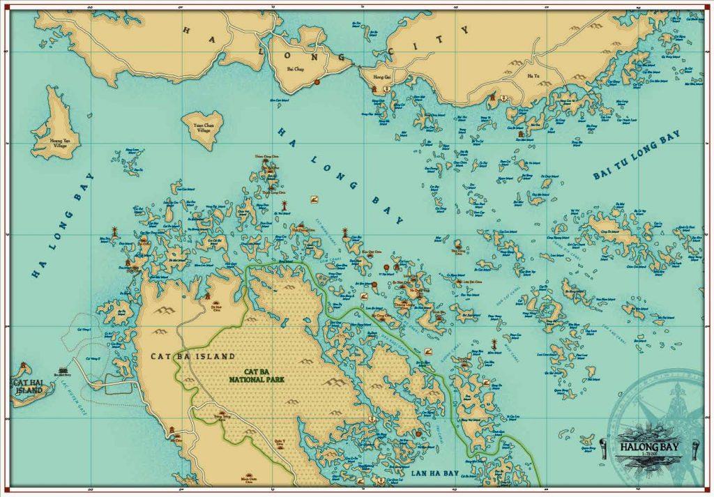 mapa bahia halong