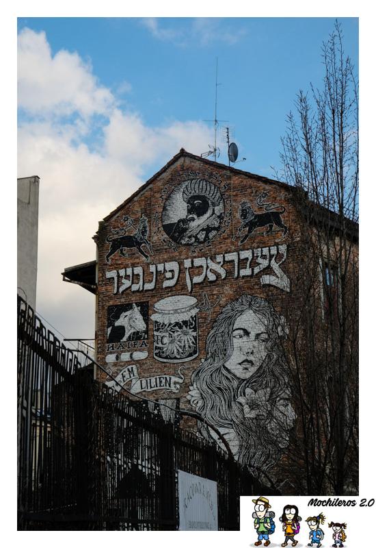 street art barrio judio