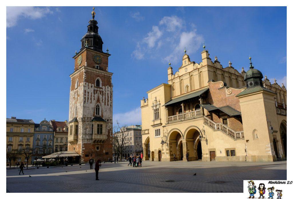 torre ayuntamiento cracovia