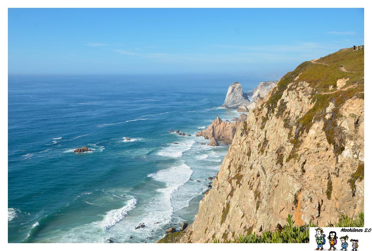Cabo da Roca, asomándonos al fin del mundo