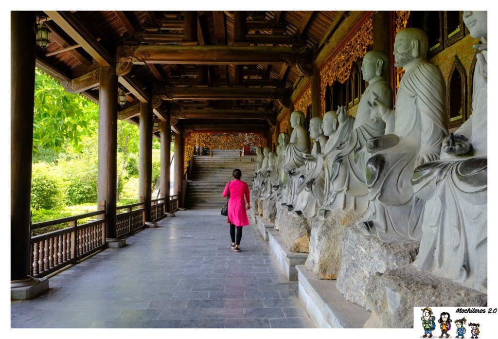 estatuas arhat bai dinh