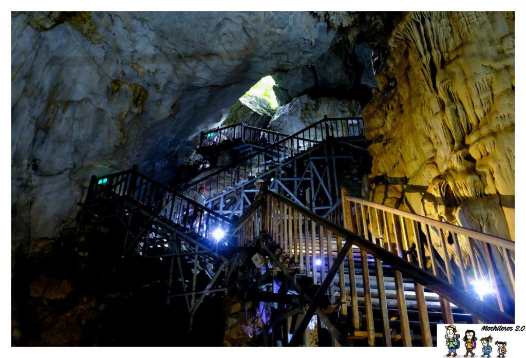 escalera paradise cave