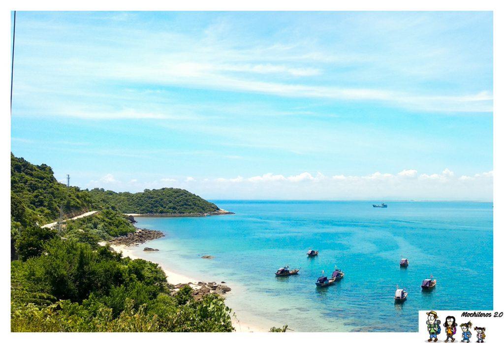 bai xep beach cham island