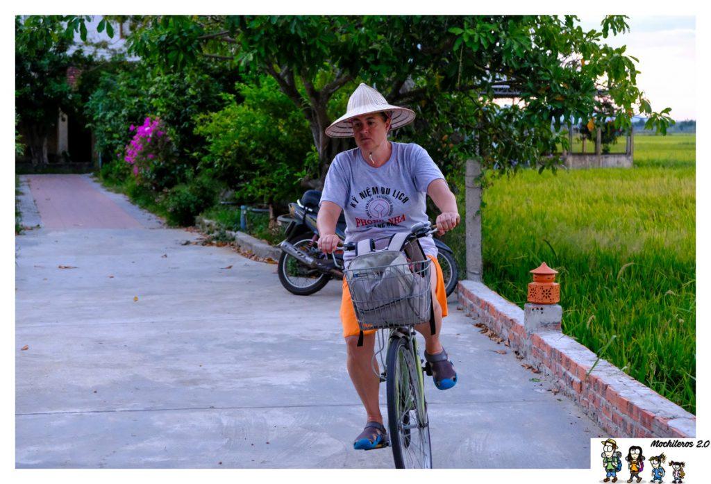 hoian bicicleta