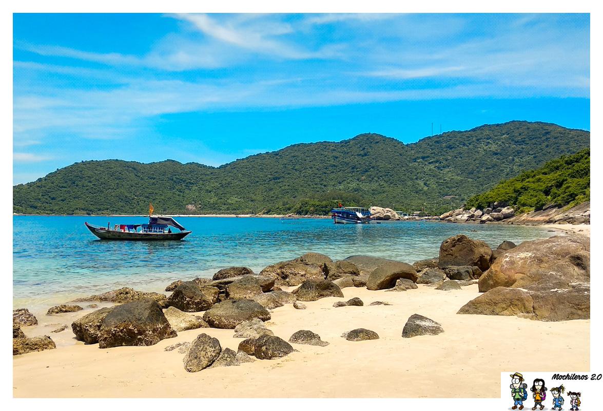 Islas Cham, paradisíacas islas en la costa de Hoi An