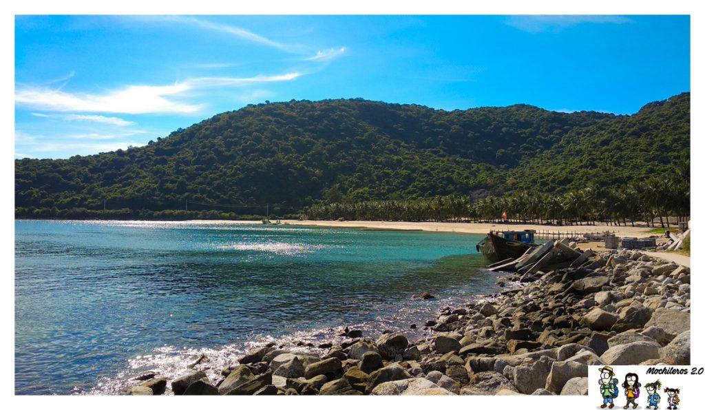 playa bai bac islas cham
