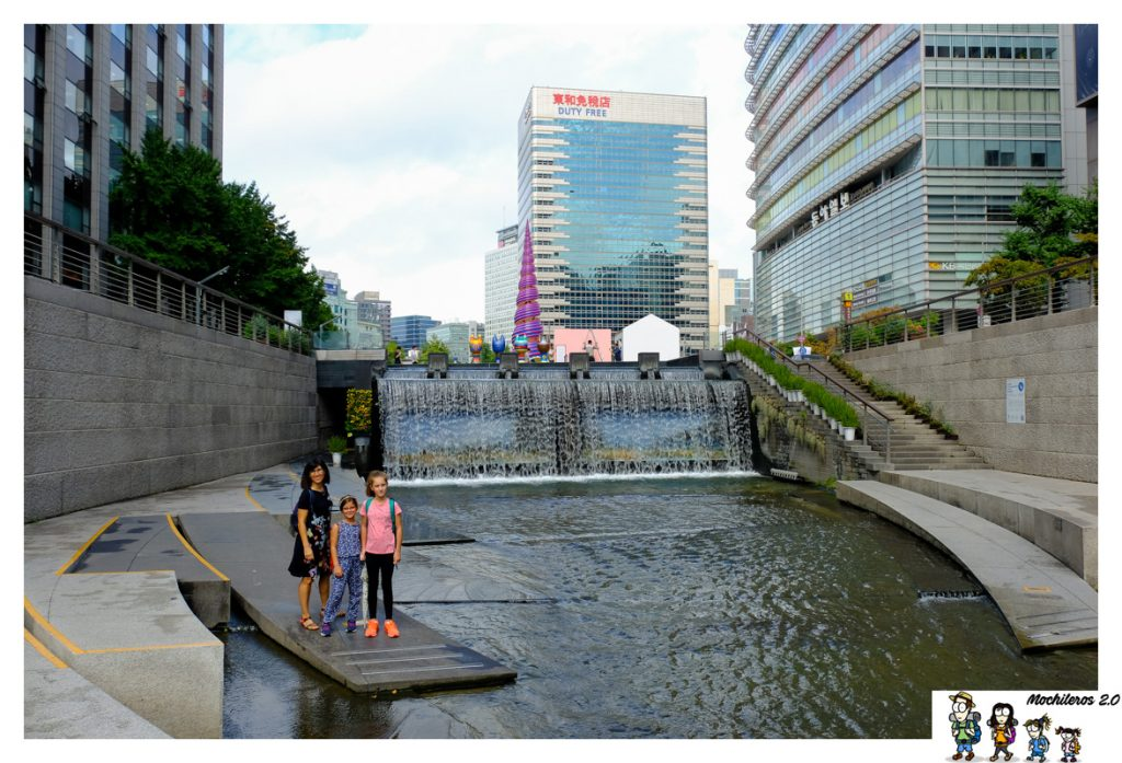 arroyo Cheonggyecheon Seul