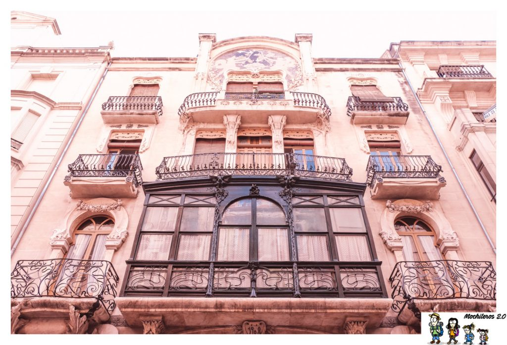 edificio modernista alcoy