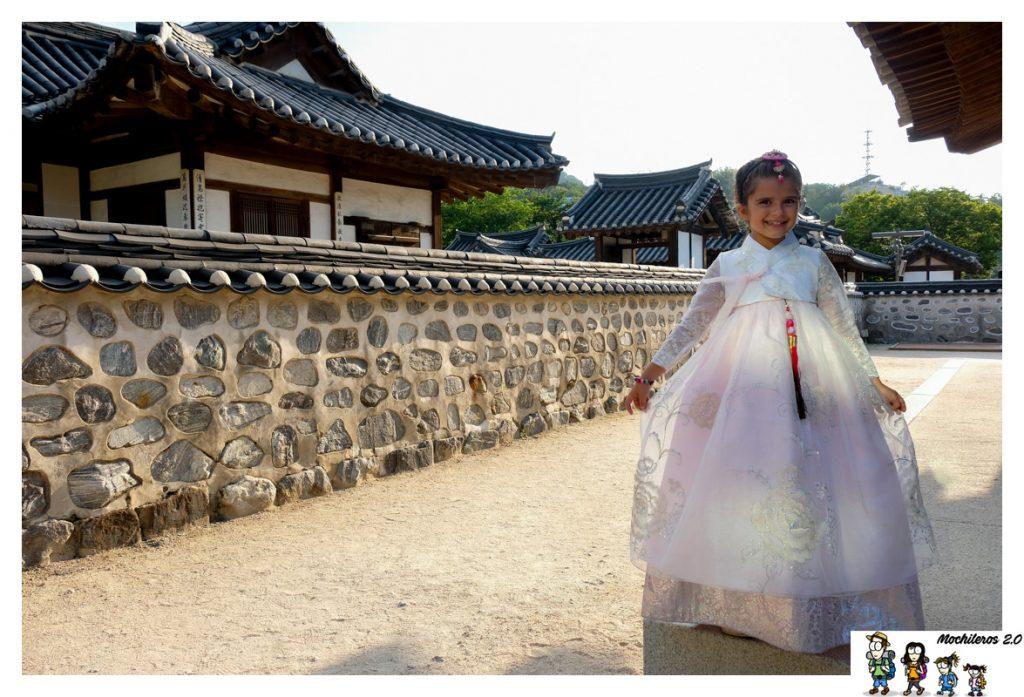 hanbok vestido tradicional coreano