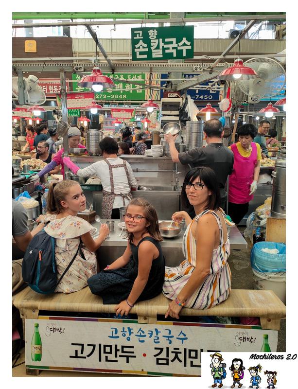 noodles mercado Gwangjang