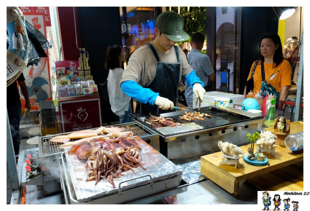 street food myeongdong