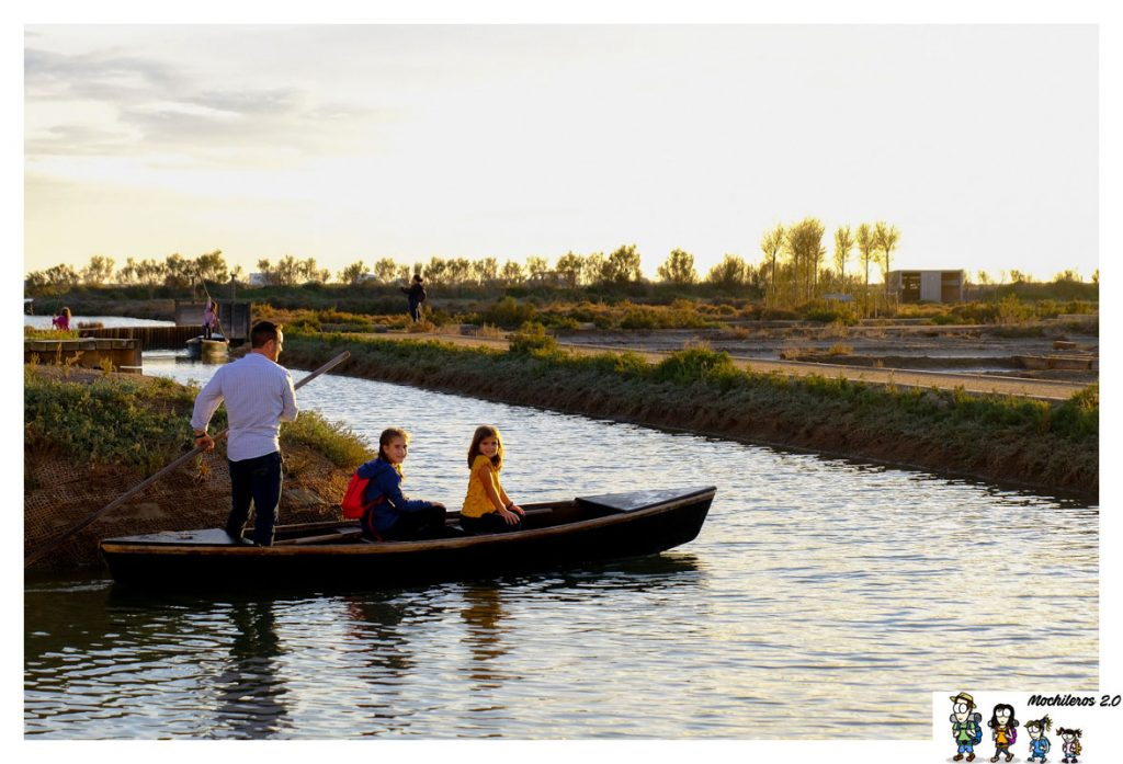 barca percha delta ebro