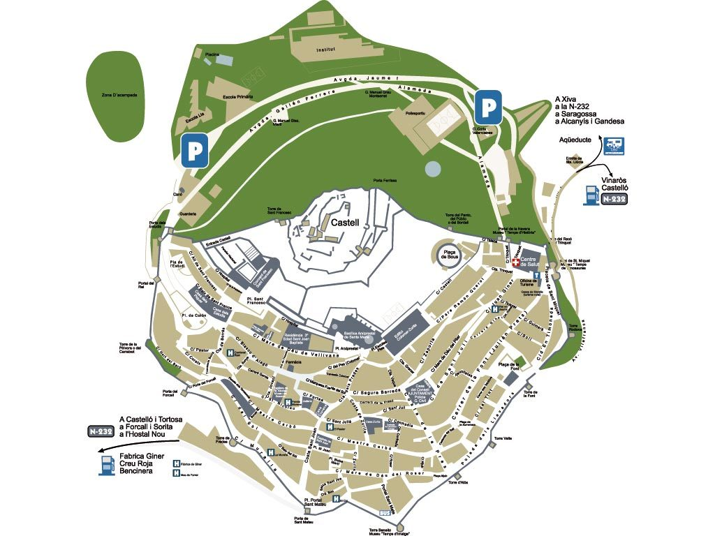 mapa morella