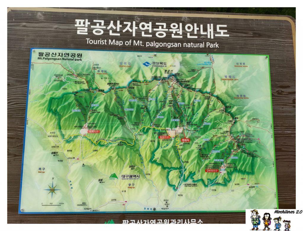 palgongsan mountain daegu