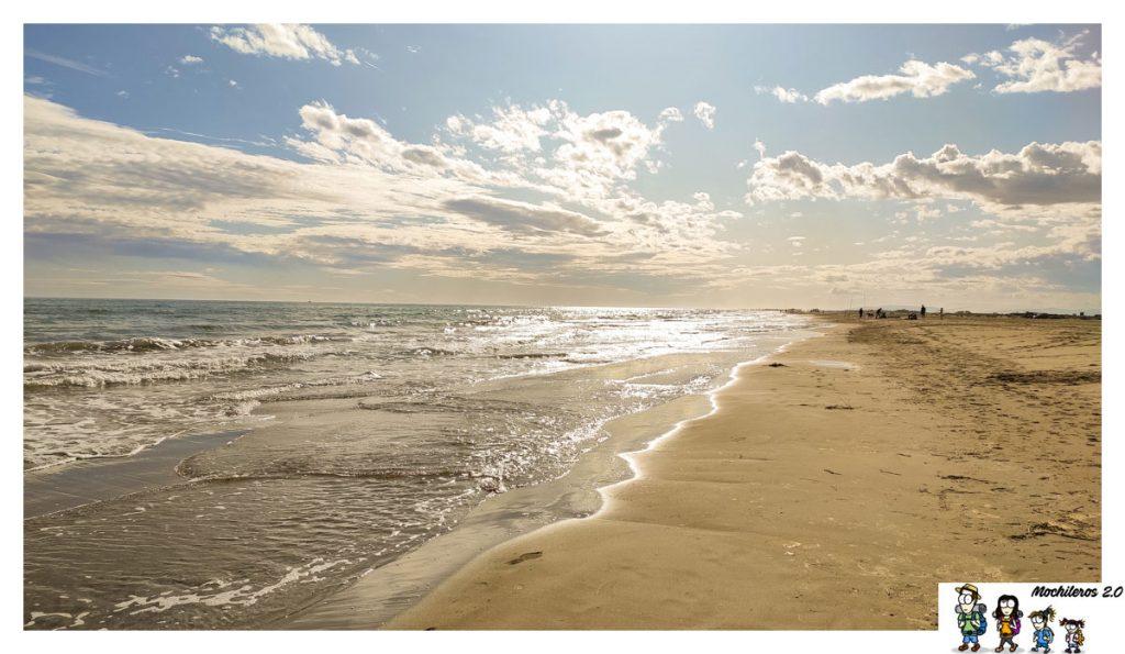 playas delta ebro