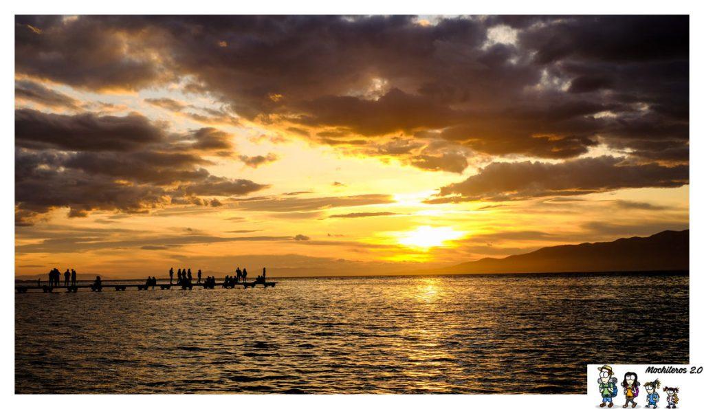 puesta sol delta ebro