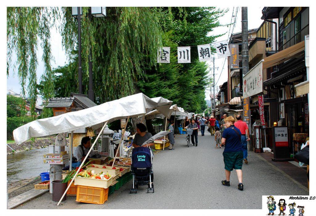 mercado matinal takayama