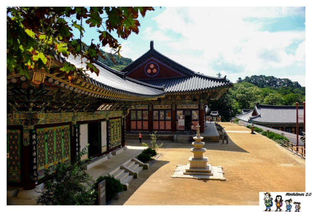 templo haeinsa edificios