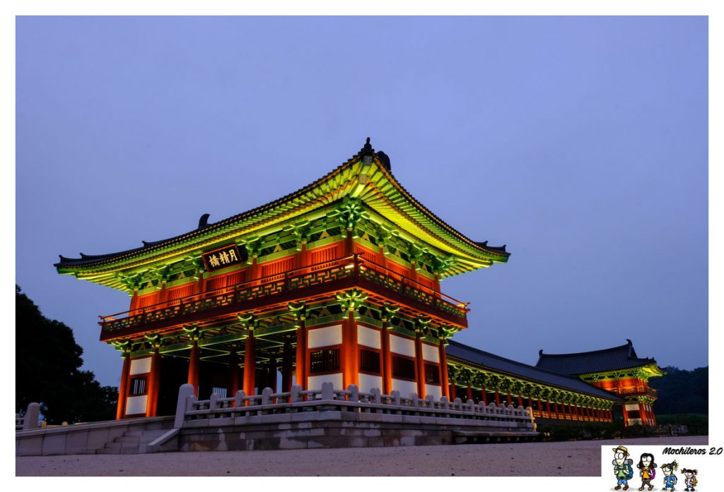 Woljeong bridge gyeongju