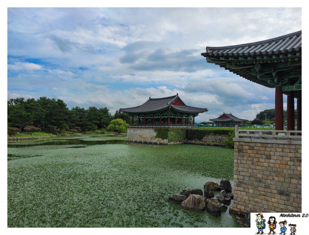 estanque wolji Donggung anapji