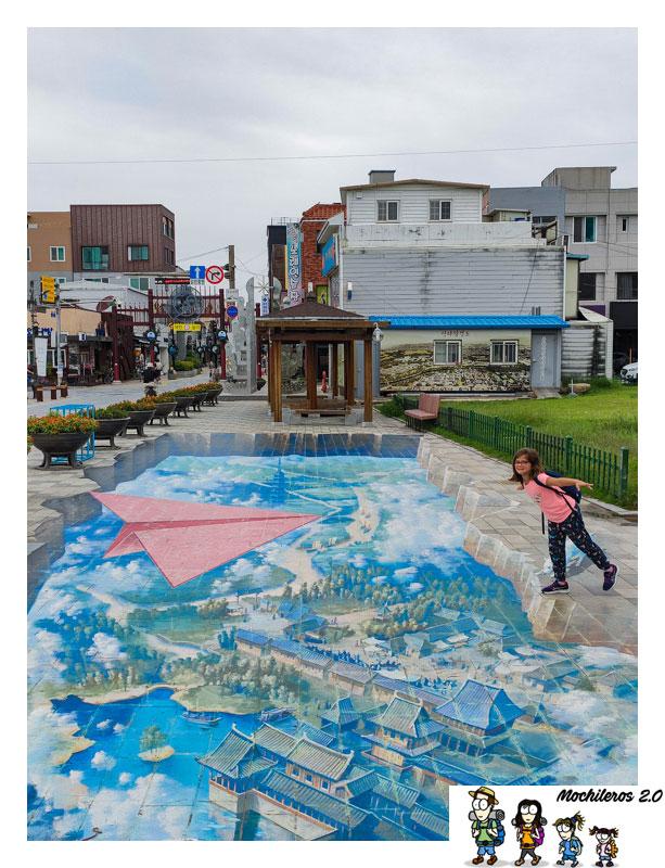 gyeongju arte callejero