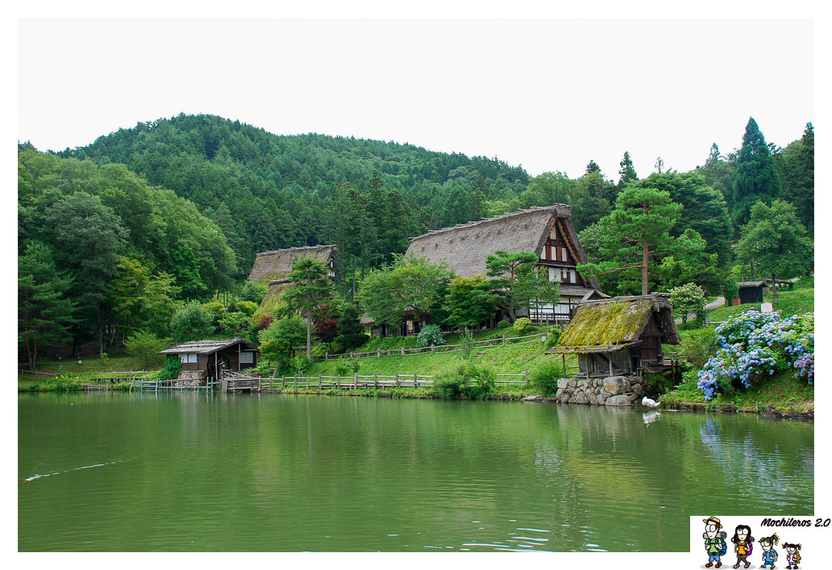 Aldea Hida no Sato, visita desde Takayama