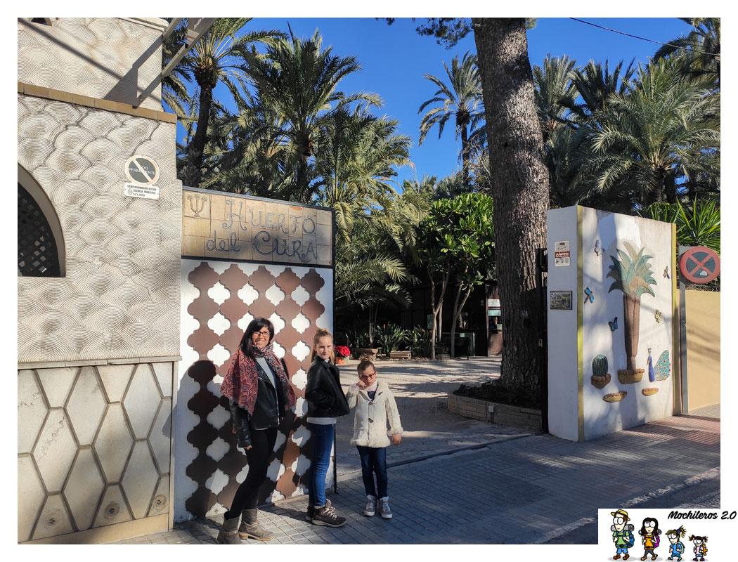 Visitar el Jardín del Huerto del Cura, Elche
