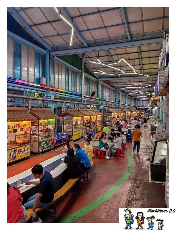 mercado nocturno gyeongju