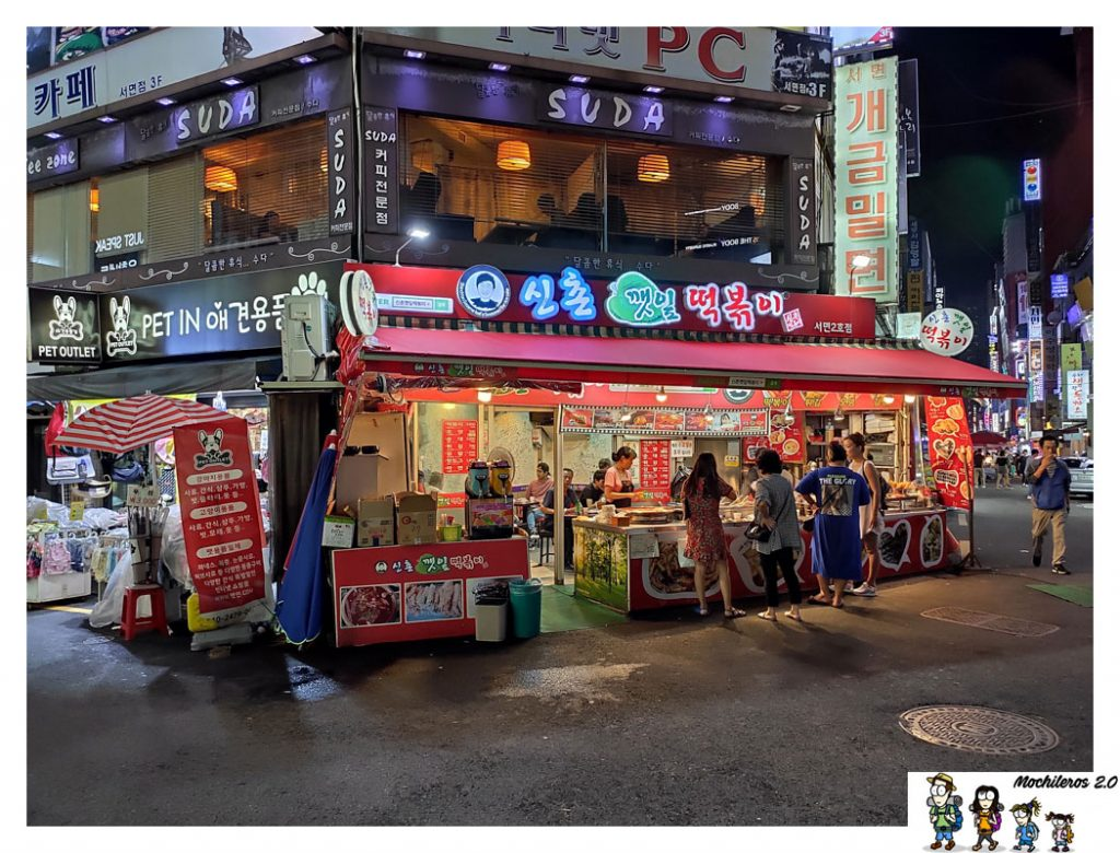 Seomyeon market busan