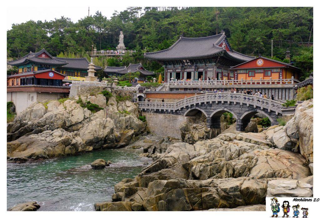 busan-Templo Haedong Yonggungsa