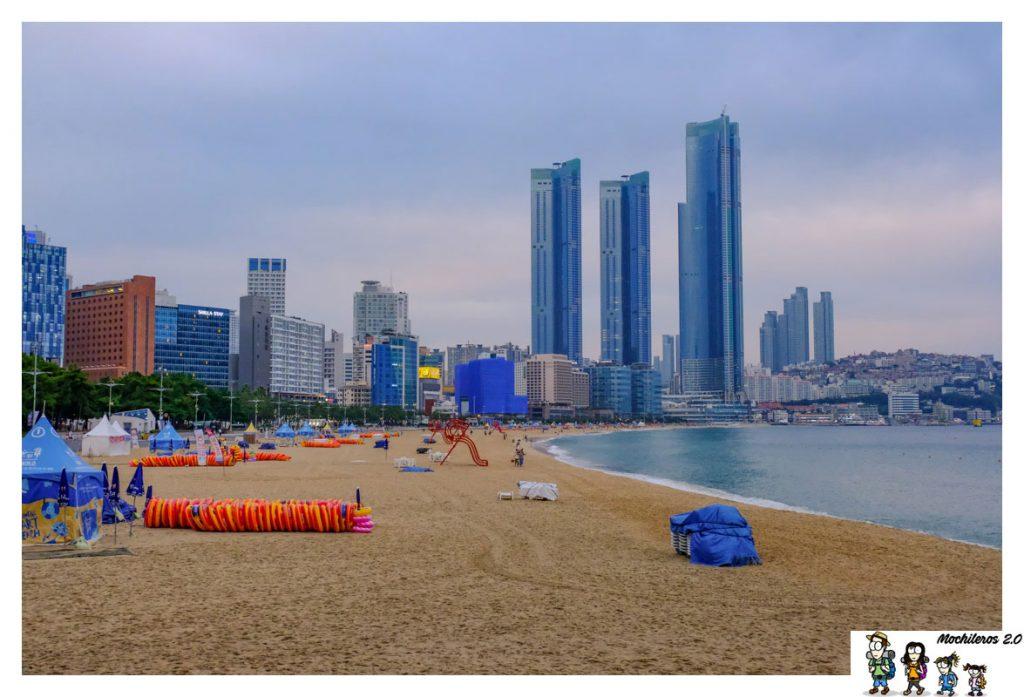 busan playa Haeundae