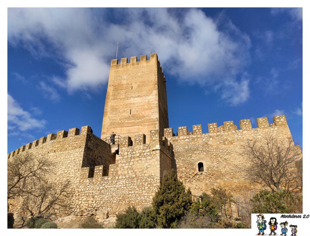 castillo baneres alicante