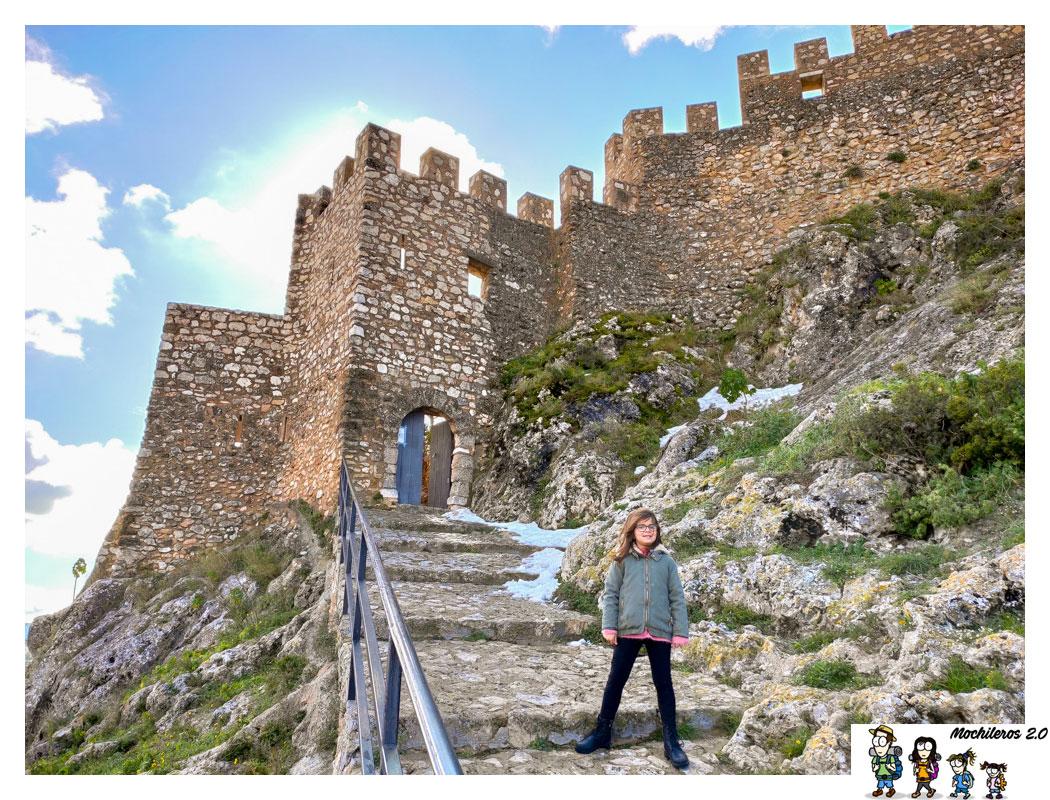 El Castillo de Bañeres de Mariola, Alicante