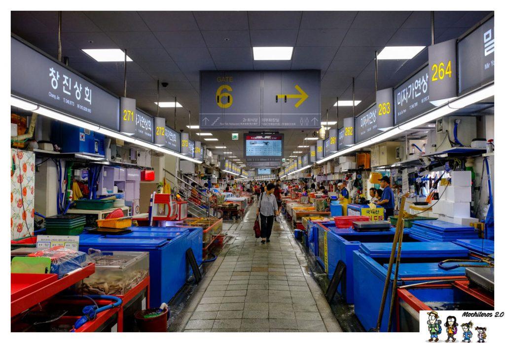 mercado pescado jagalchi busan