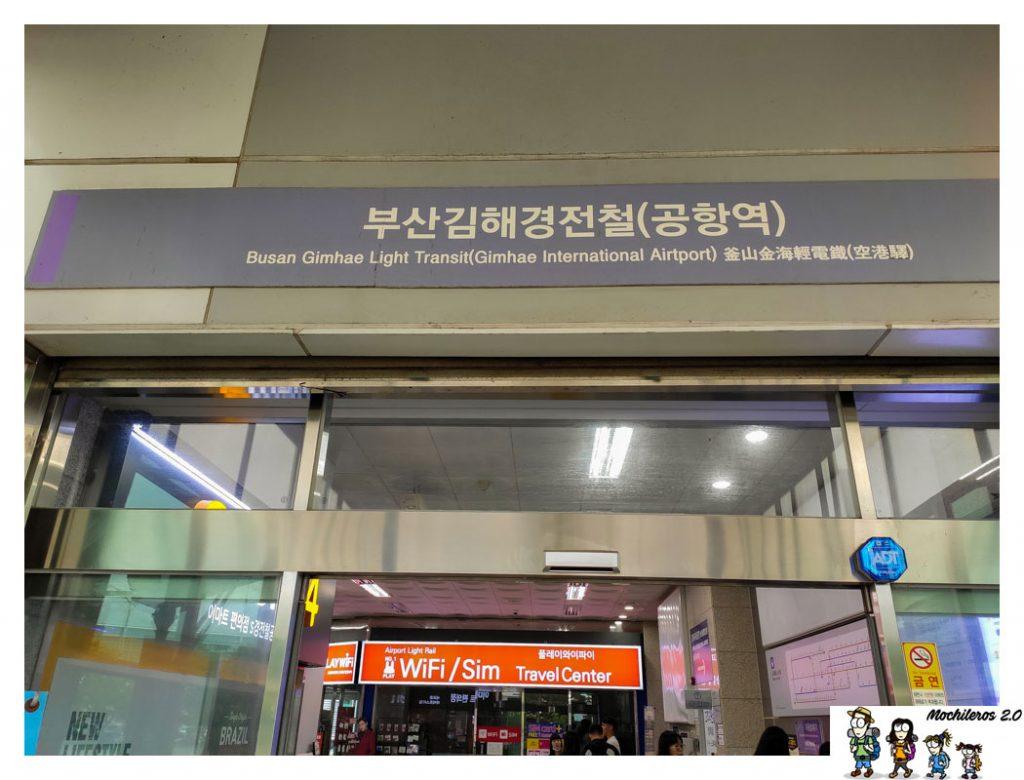 metro aeropuerto busan