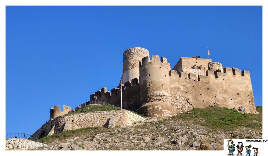 murallas castillo biar alicante