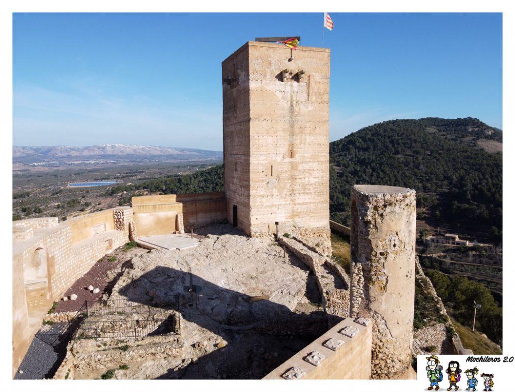 torre castillo biar alicante