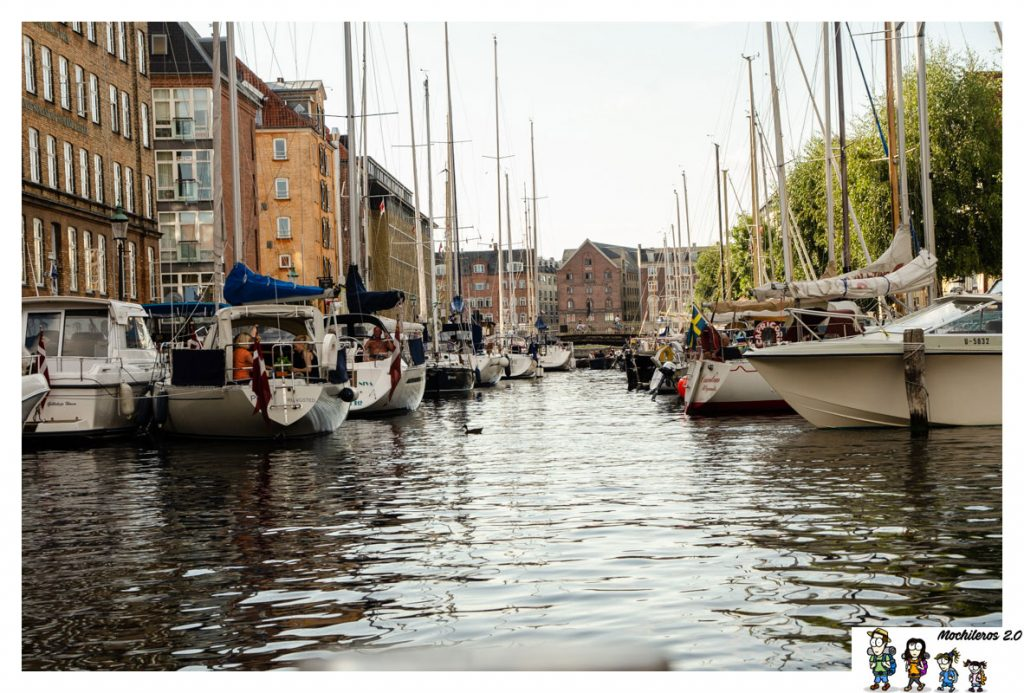 Christianshavn canales copenhague