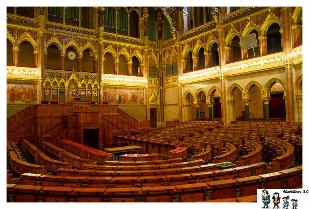 camara antigua parlamento budapest