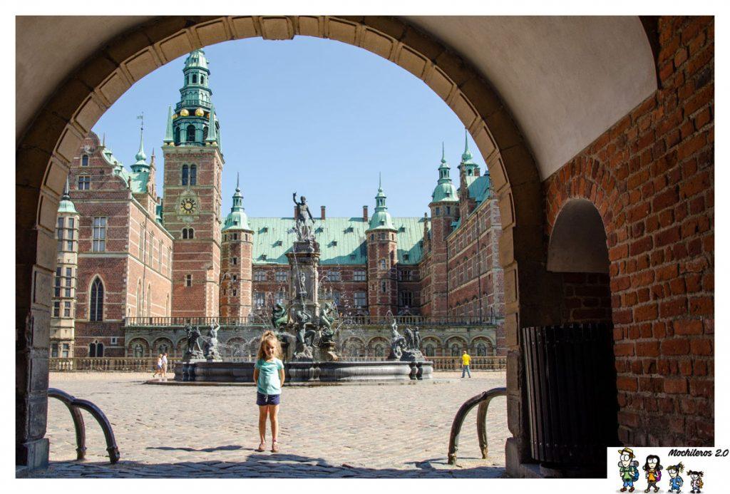 entrada castillo frederiksborg