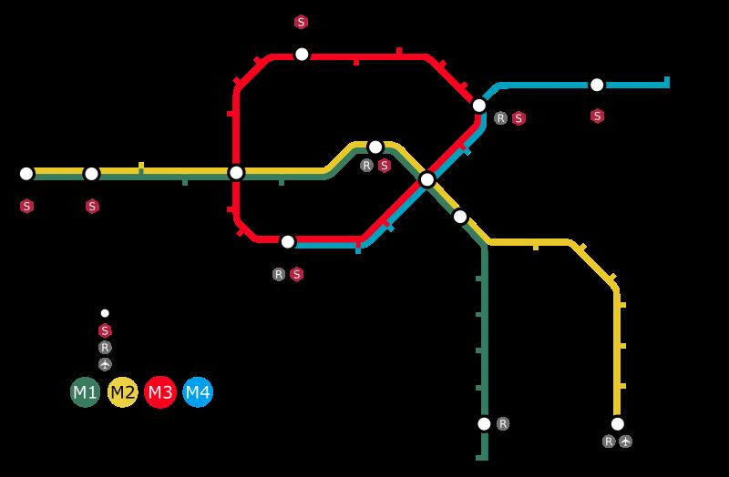 Transporte público en Copenhague – Precios y líneas