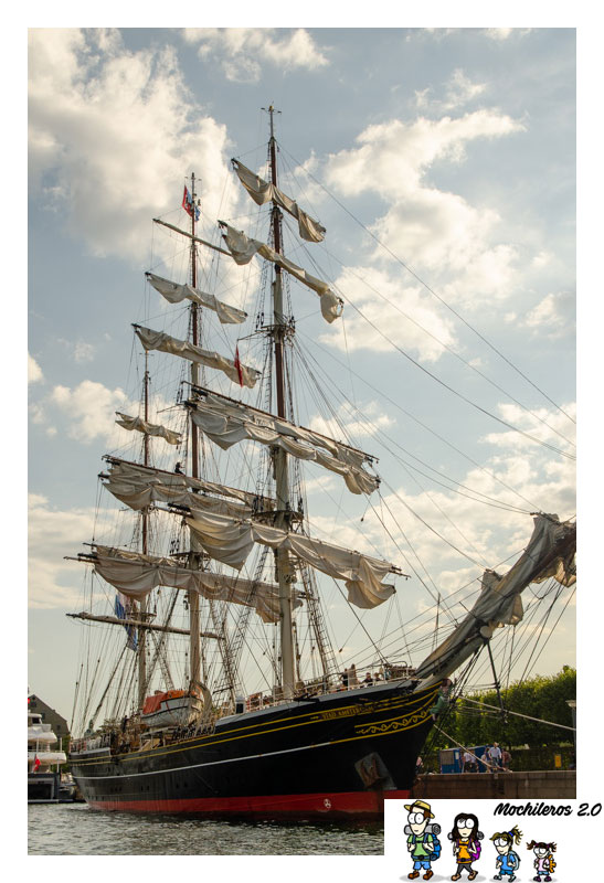 velero puerto copenhague