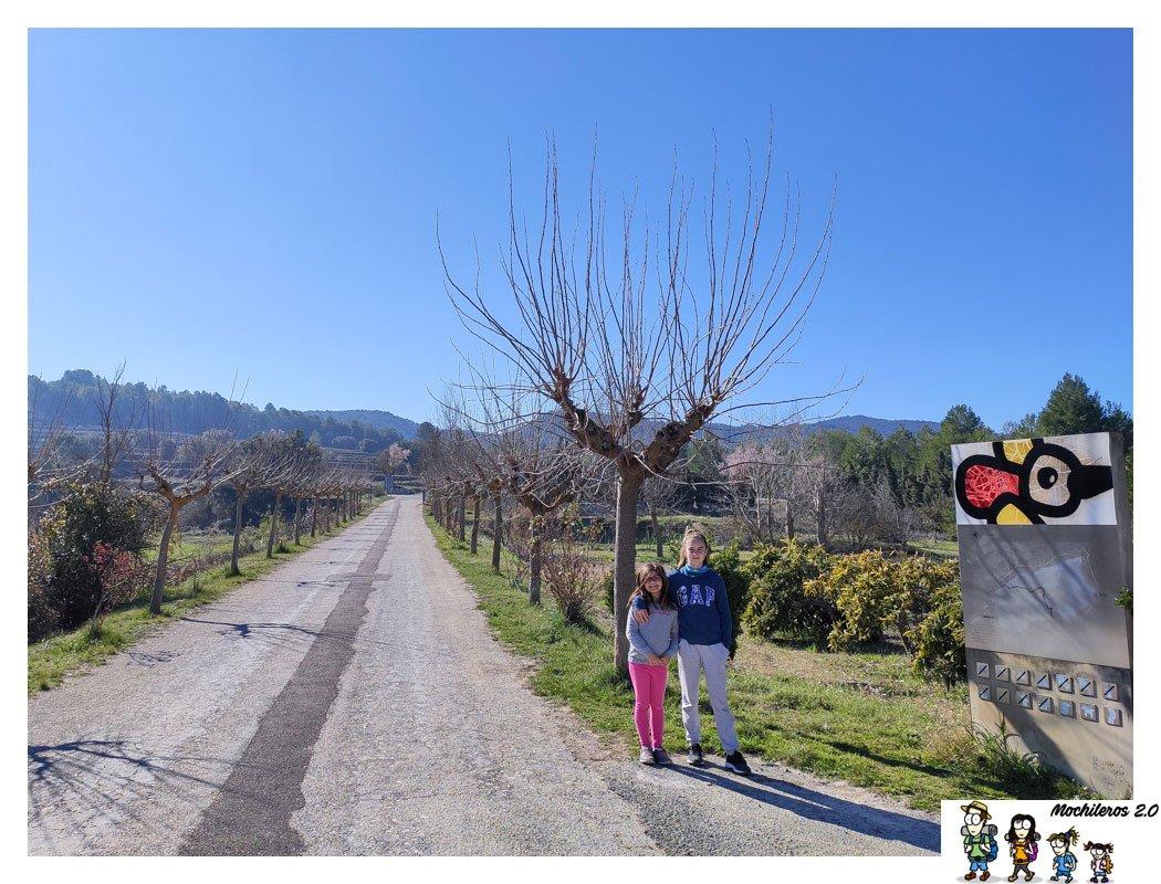 acceso parque natural mariola