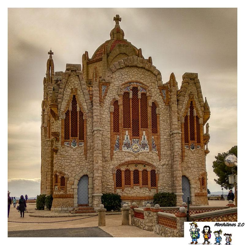 Fachada trasera de Santa María Magdalena