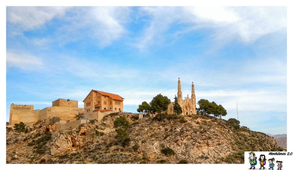 Santuario de Santa María y el Albergue