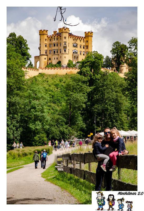 Vistas del Castillo de Hohenschwangau