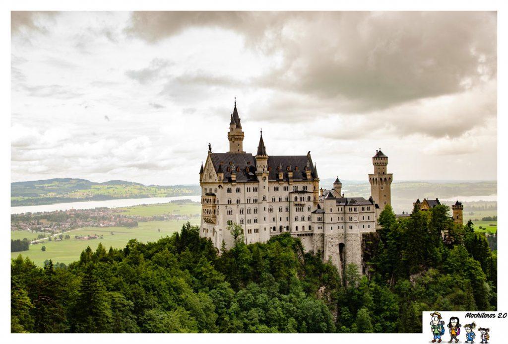 Luis II mandó construir este impresionante castillo