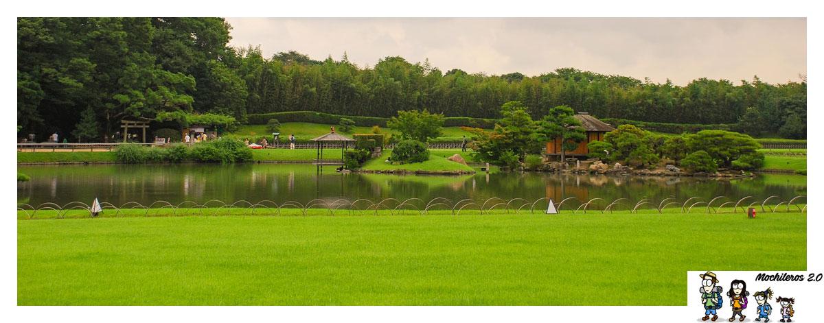 Qué ver en Okayama, el Jardín Koraku-en
